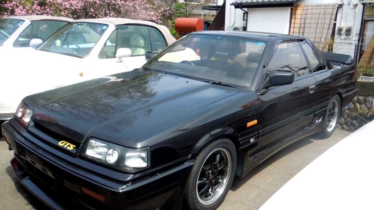 1988 R31 Skyline 2CP GTS Turbo 5MT Edward Lees YouTube