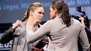 Ronda Rousey vs. Amanda Nunes UFC 207 Staredown Video