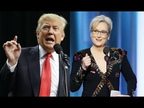 Thumbnail: Trump attacks Meryl Streep after Golden Globes speech