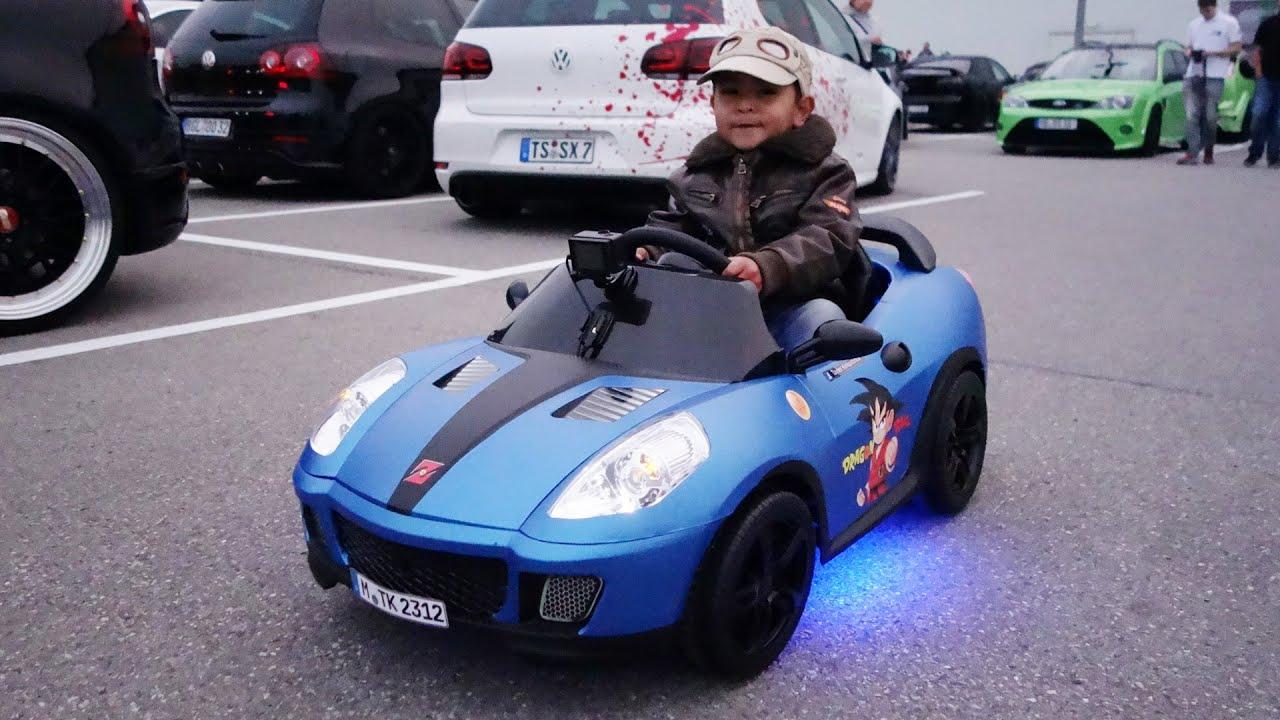 power wheels tuning kids car dragon ball youtube