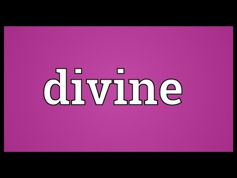 Divine Meaning