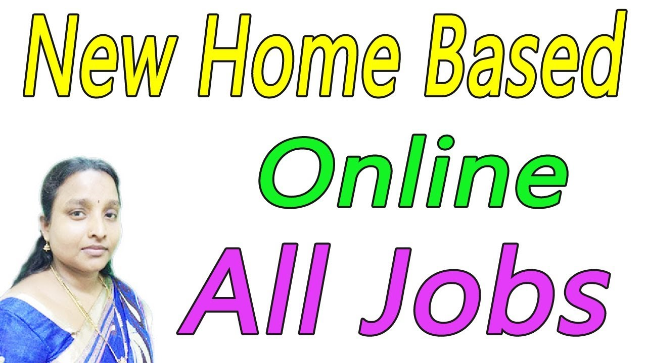 New Home Based Online All Jobs in Tamil - YouTube