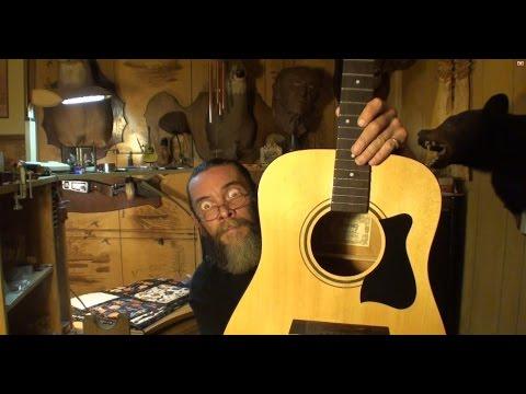 Ibanez V50MJP-NT-27-01 Acoustic Guitar enlarging sound hole