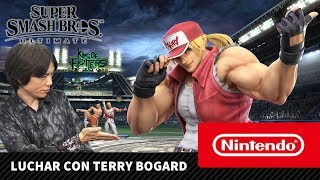 Super Smash Bros. Ultimate - Luchar con Terry Bogard (Nintendo Switch)
