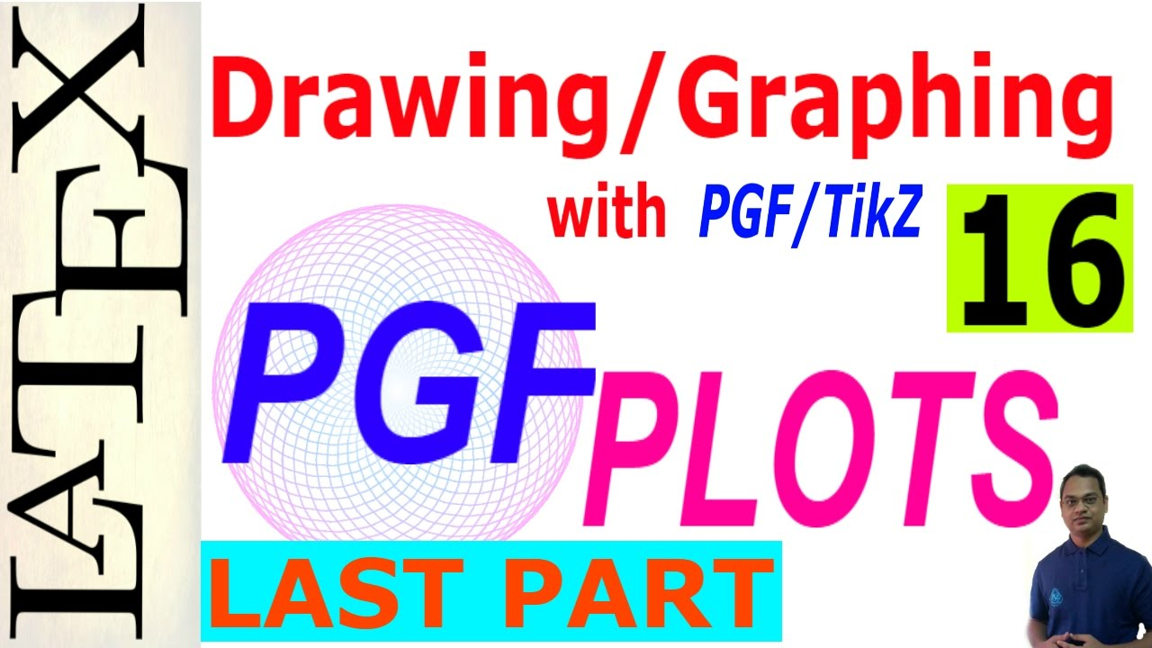 Basic and Advanced Drawing/Graphing in LaTeX Using PGF/TikZ (PGFPLOTS),  Last part