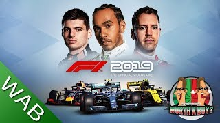 F1 2019 Review (see my F1 2018 review for more depth it's almost the same game)