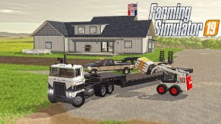 2000'S FARMING NEW SKID STEER & SEED DELIVERY | (ROLEPLAY) FS 2000'S