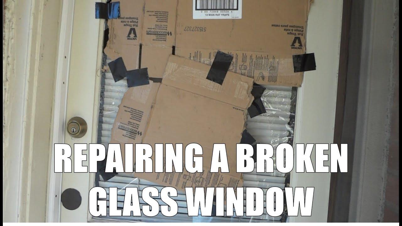 Image result for broken glass window