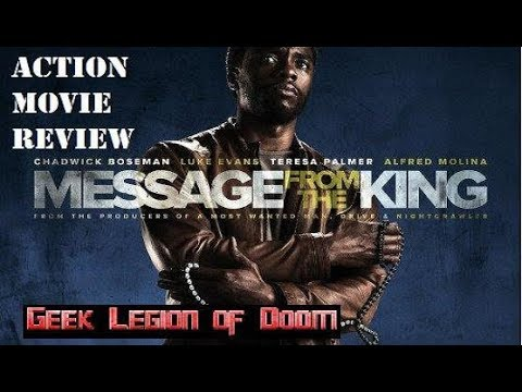 message from the king 2017 chadwick boseman action movie review youtube. Black Bedroom Furniture Sets. Home Design Ideas