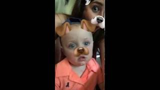 Snapchat Puppy Filter Scares Adorable Baby