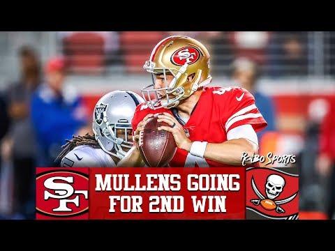 b9baa7938 Live! 49ers vs Buccaneers NFL 2018 Week 12 Predictions - YouTube