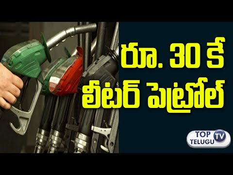 పెట్రోల్ ధరల్లో భారీ పతనం.. రూ.30కే లీటర్ | Petrol could be below Rs 30 a litre in 5 years