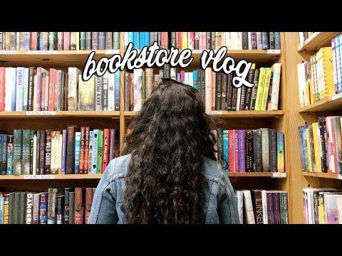 Bookstore Vlog + Haul!