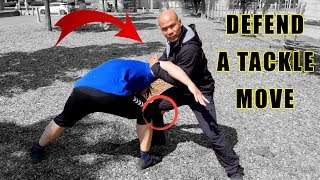 Defend against a tackle move   Self-defence