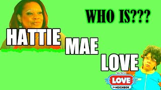 "PATRICE LOVELY (""Hattie Mae Love"") -"
