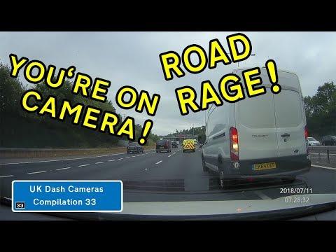 UK Dash Cameras - Compilation 33 - 2018 Bad Drivers, Crashes + Close Calls