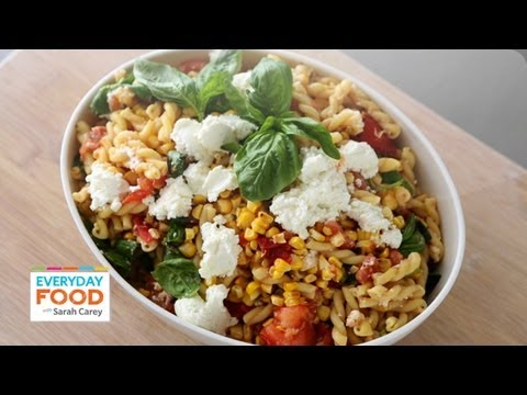 Grilled tomato and corn pasta salad everyday food with sarah carey grilled tomato and corn pasta salad everyday food with sarah carey youtube forumfinder Images