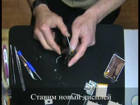 ремонт IPhone 2G, замена экрана на Iphone, как разобрать Iphone 2G