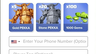 Gold pekka statue Clash of clans || Clash of clans Update reward || 1000 gems gift for free from coc