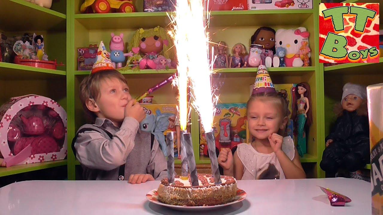 ✔ Привет Ребята! Сегодня у Игорька День Рождения и его подружка