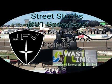 Street Stocks #21, Feature, 81 Speedway, 08/11/18