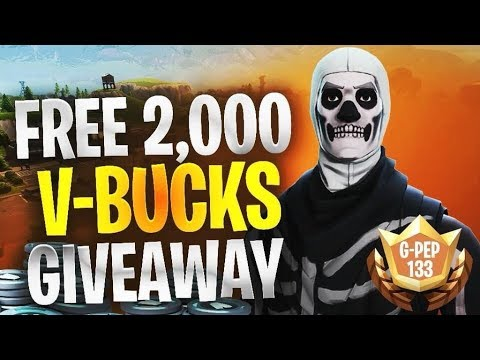 Gleam Giveaways V Bucks