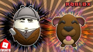 HOW TO WIN THE EGGS (Inveggstigator + Doggo Egg) from Easter Roblox 2018