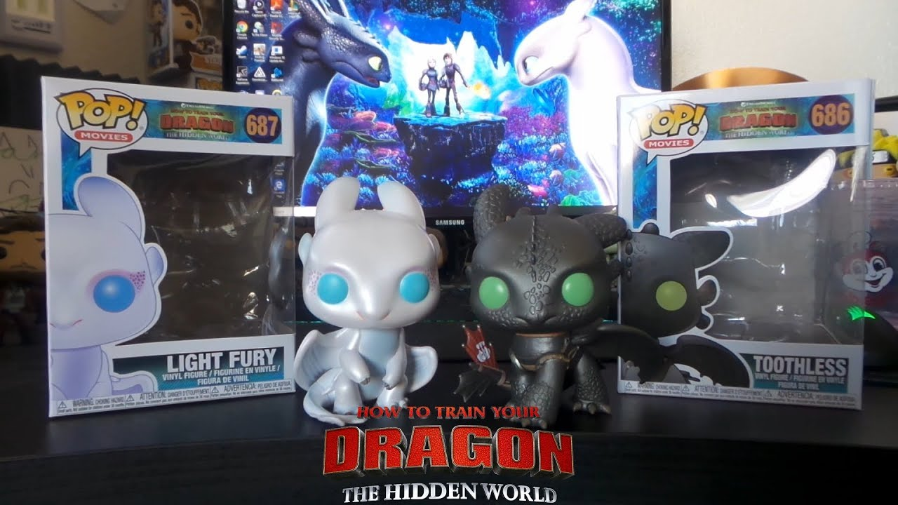 Toothless Pop How to Train Your Dragon 3 The Hidden World Vinyl