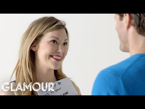 We Asked These People To Give Each Other Compliments | Glamour