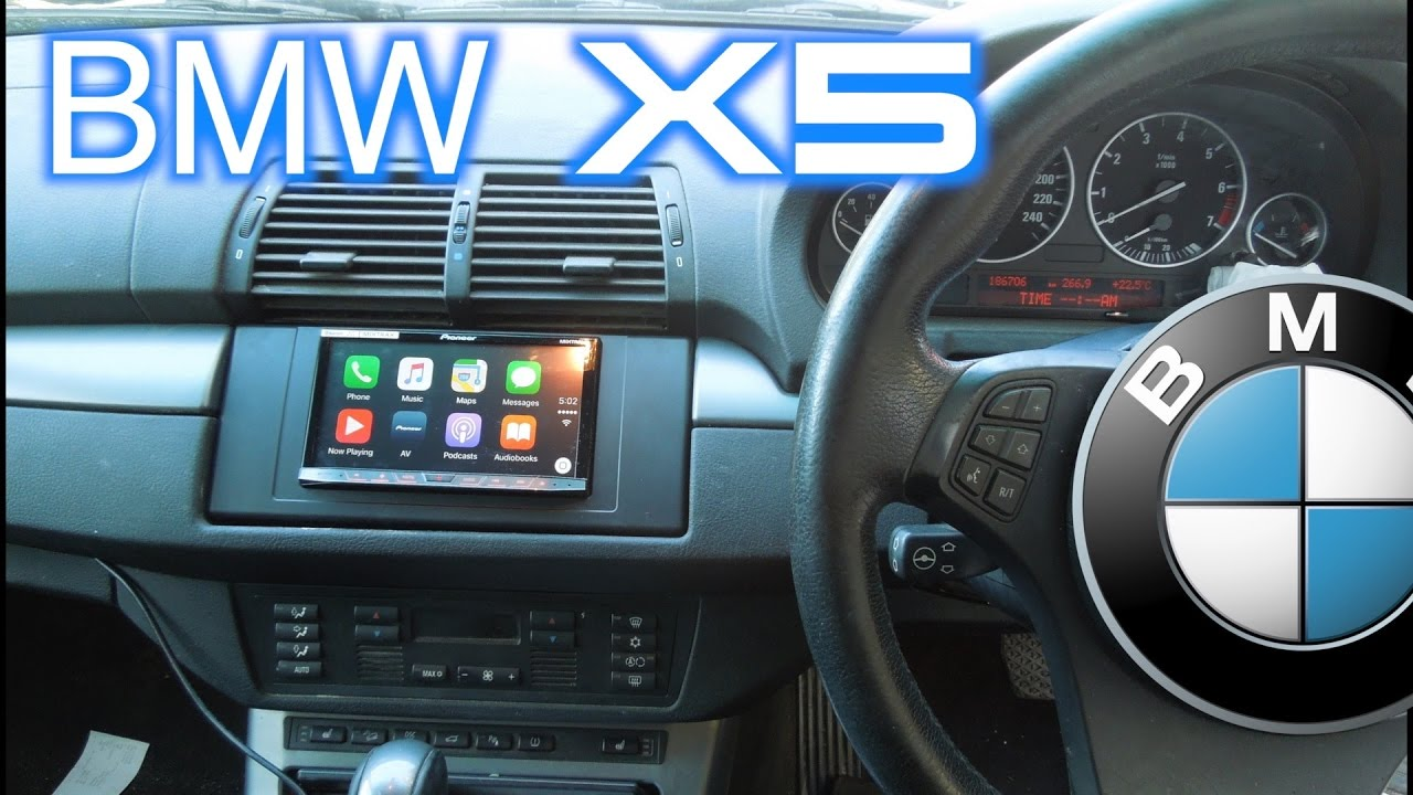 Bmw X5 Carplay Stereo Installed Big Job Part 5 5 Youtube