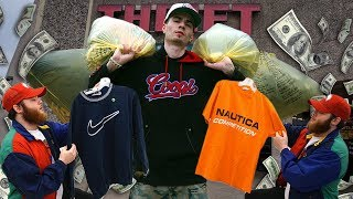 Trip to the Thrift #214 | GIANT BAGS OF SWAG! Guess, Nautica, OG Nike!