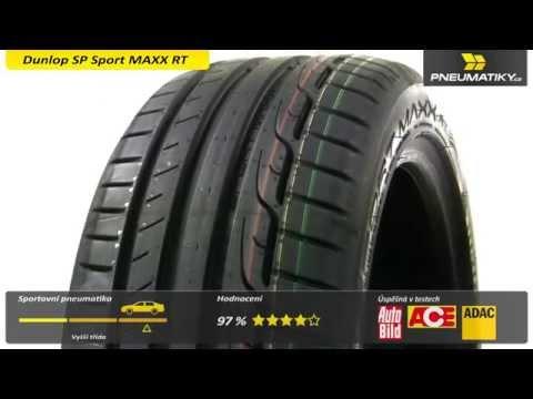 Dunlop Sport MAXX RT - Pneumatiky.cz