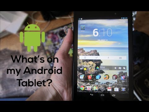 What's On My Android Tablet? (2013) Best Android Apps