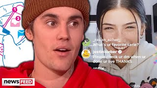 Reason Why Justin Bieber Slid Into Charli D'Amelio's DMS Revealed!