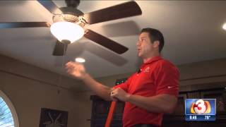 Setting Ceiling Fans for Summer and Winter | Precision Air & Plumbing | 3TV