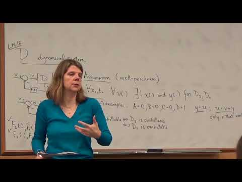 EE 221A: Linear Systems Theory, Lecture 16b, 17