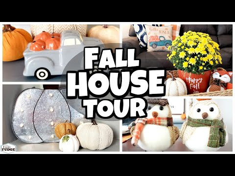 *NEW* FALL HOUSE TOUR 2019  🍃 Decorate With Me + Kitchen REVEAL