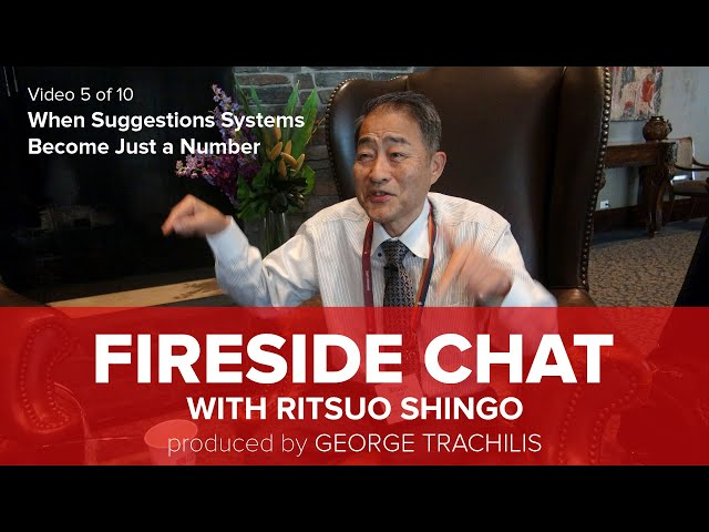 Ritsuo Shingo says most Suggestion Systems areJust a Number