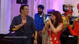 Govinda & wife steal the show with Sona Walia | Prime Films UK