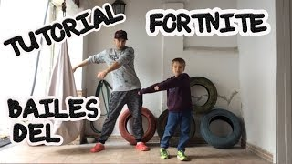BAILES DEL FORTNITE NA VIDA REAL | Tutorial