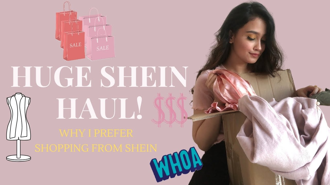 Huge SHEIN Clothing Haul | The BEST site to shop online? | MUSSKAN