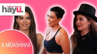Kardashian Sisters Rehearse Dance For Kim's Birthday | Season 19 | Keeping Up With The Kardashians