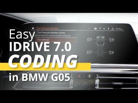 Easy iDrive Coding in 2019 BMW X5 G05 with iDrive 7 0 (MGU) - YouTube
