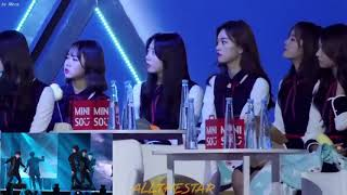 Video [Must-Watch!]  I.O.I -reaction to infinite the eye @golden disk award 170114 download MP3, 3GP, MP4, WEBM, AVI, FLV Agustus 2018