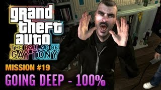 GTA: The Ballad of Gay Tony - Mission #19 - Going Deep [100%] (1080p)