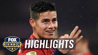 james rodriguez gets his first hat trick for bayern munich 2019 bundesliga highlights