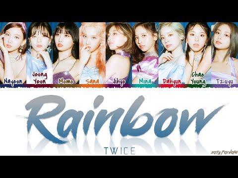 TWICE (트와이스) - 'RAINBOW' Lyrics [Color Coded_Han_Rom_Eng]