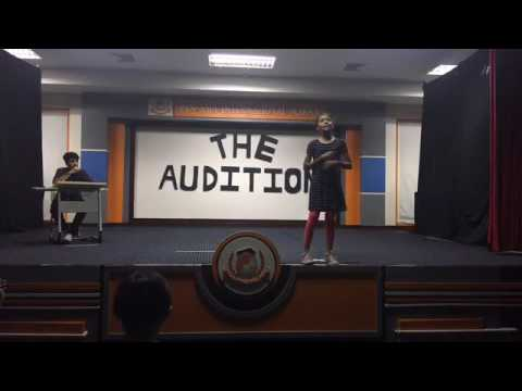 The Audition, a play by Don Zolidis -- Pan Asia International School