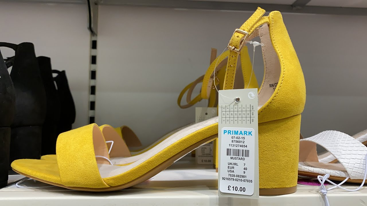 PRIMARK WOMEN'S SHOES | July 2020 + Prices