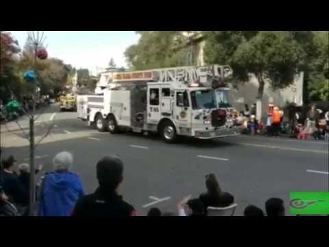 The 61st Annual  Los Gatos  Children's Christmas  & Holidays Parade 2017 (Part 1)